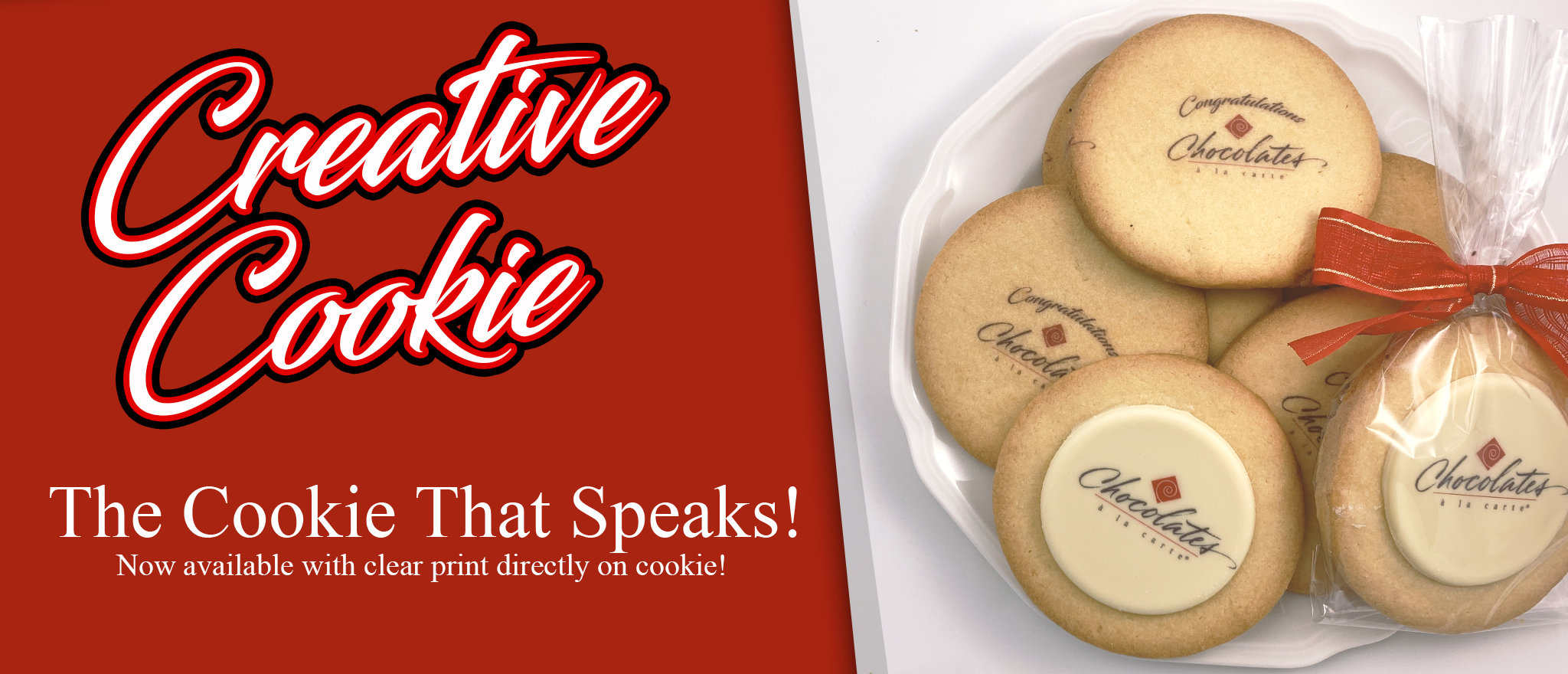 Creative Cookie Banner