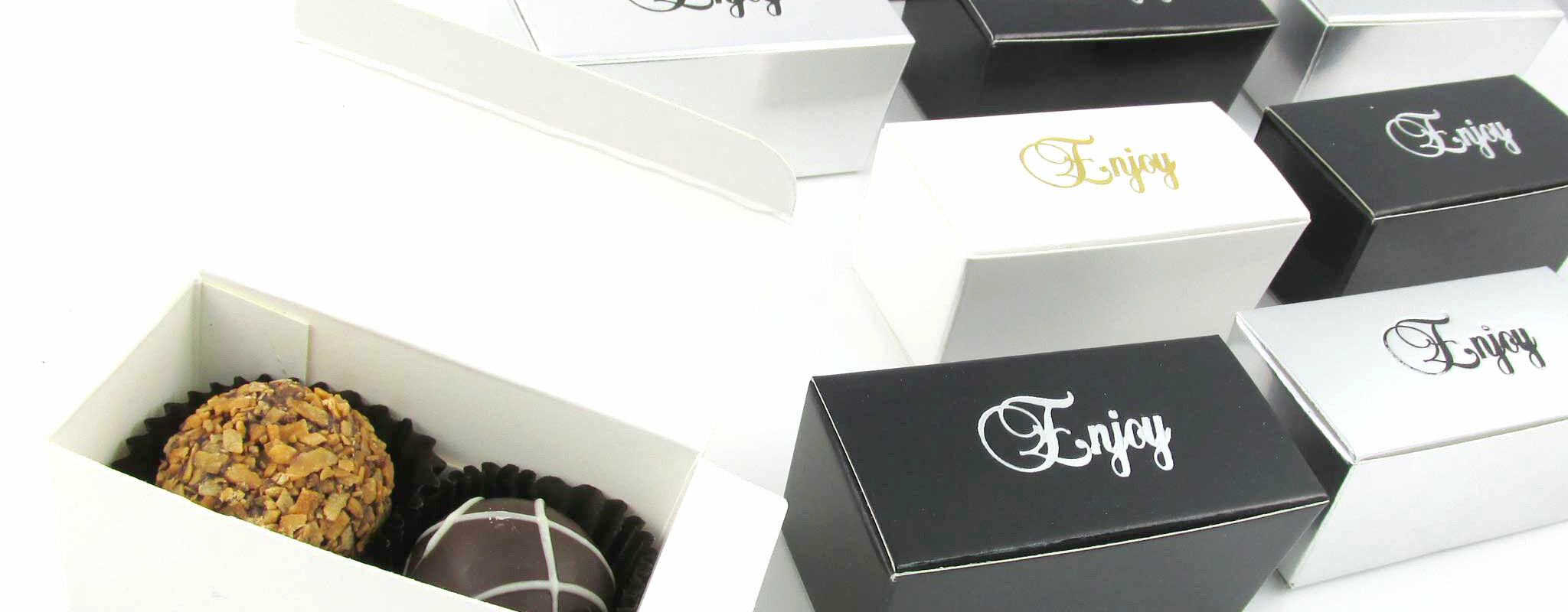 Truffle Box - Two Piece | Chocolates A La Carte